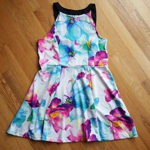 Dresses & Skirts - Watercolor Flower Dress